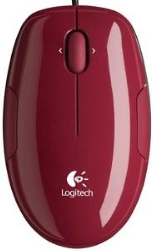 Logitech M150 Cinnamon Red Mouse USB 910-003751