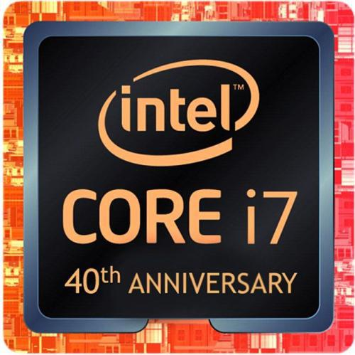 Intel Core i7-8086K 4.0GHz, 12MB, BOX (BX80684I78086K) 40th Anniversary Edition