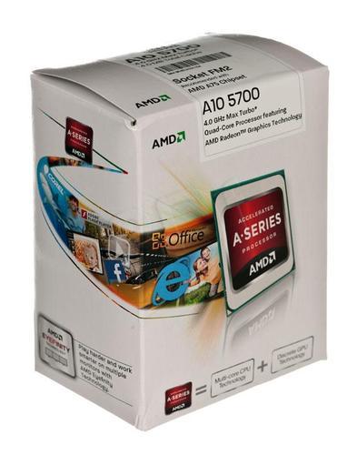 AMD APU A10-5700 3.4GHz BOX (FM2) (65W)
