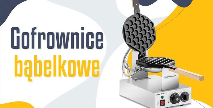 Gofrownica bąbelkowa | TOP 5 |