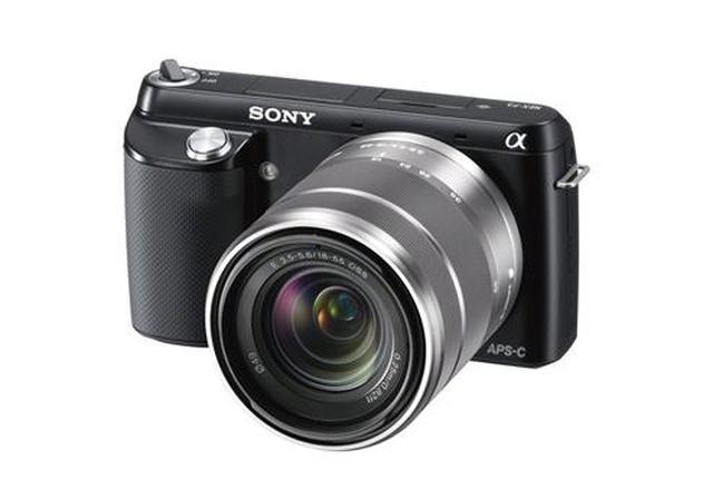 Nowy, lekki i nieduży aparat Sony NEX-F3