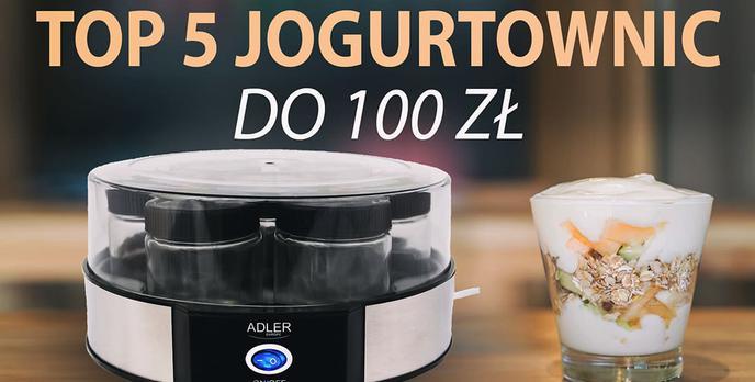 TOP 5 Tanich i dobrych jogurtownic do 100 zł