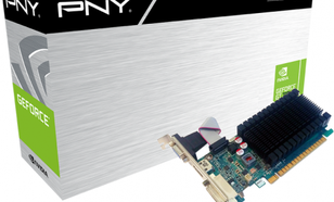 PNY Technologies GeForce GT 710 1GB DDR3 (64 bit) DVI-D, D-Sub, HDMI, BOX (GF710GTLH1GEPB)