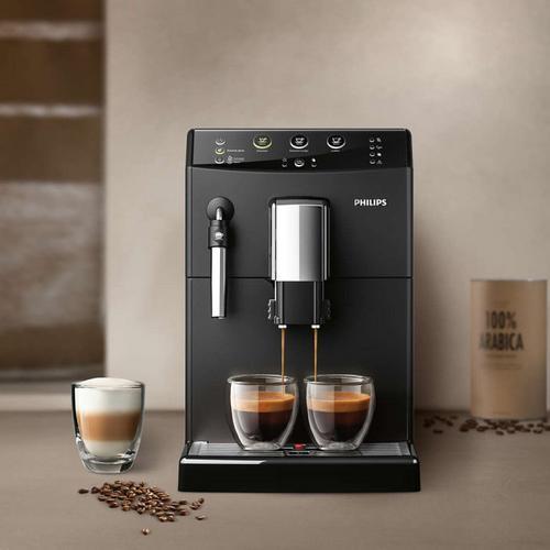 dwie kawy z ekspresu Philips 3000 HD8827 09