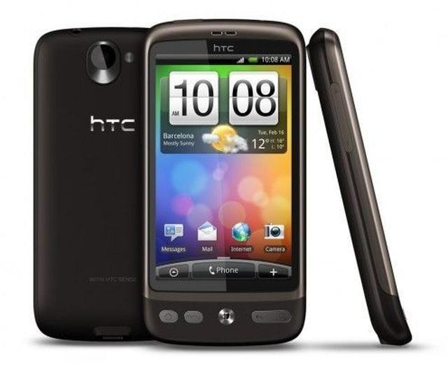 HTC Desire - prezentacja multimedialna