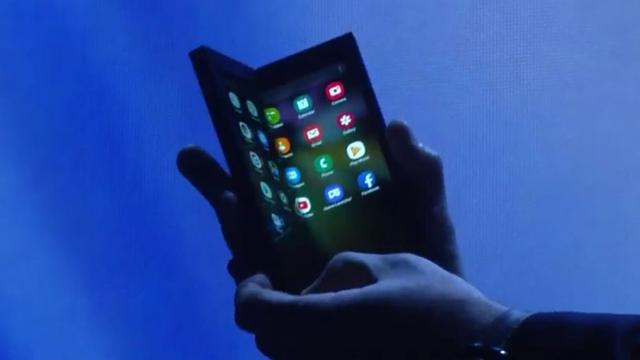 Samsung Infinity Flex to tablet i telefon zarazem