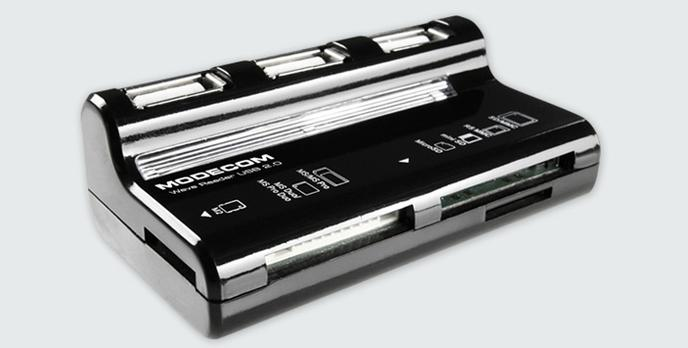 Modecom Wave Reader – czytnik kart pamięci