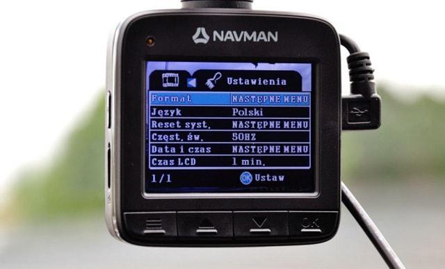 kamera samochodowa Navman 50