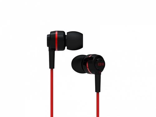 SoundMAGIC ES18 Black-Red Słuchawki dokanałowe