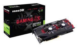 Inno3D GeForce GTX 1060 Gaming OC 6GB GDDR5 (192 Bit) DVI, HDMI, 3xDP, BOX (N1060-1SDN-N5GNX)