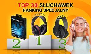 TOP 30 Słuchawek do Muzyki - Ranking Specjalny Wrzesień 2015