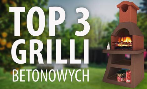 Ranking TOP 3 Grilli betonowych - Najlepsze grille do ogrodu