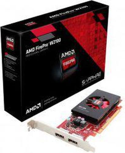 Sapphire FirePro W2100 2GB DDR3 (128 bit) 2x DP, BOX (100-505980)