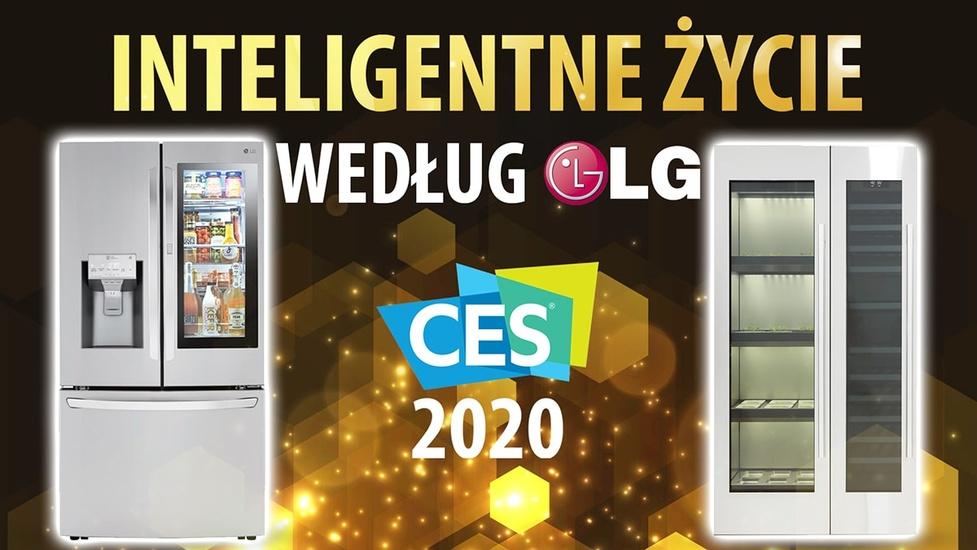 Inteligentny dom według LG - Najnowsze Lodówki InstaView i Pralki zaprezentowane na CES 2020