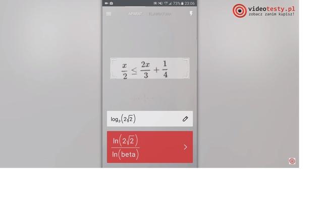 PhotoMath pomoc matematyczna w telefonie