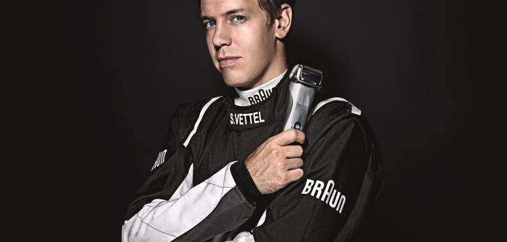 Sebastian Vettel nowym, globalnym  ambasadorem marki Braun