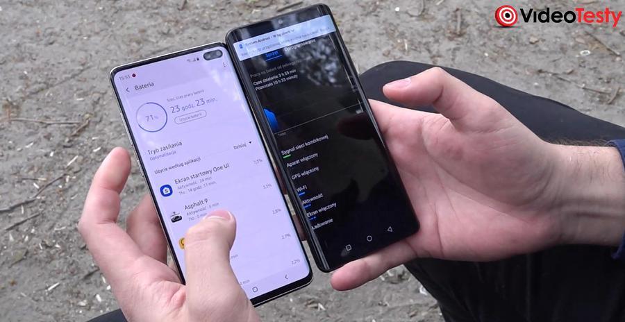 Opcji zarządzania baterią w obydwu telefonach nie brakuje