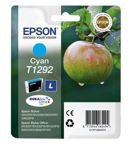 EPSON Tusz Niebieski T1292=C13T12924011, 7 ml
