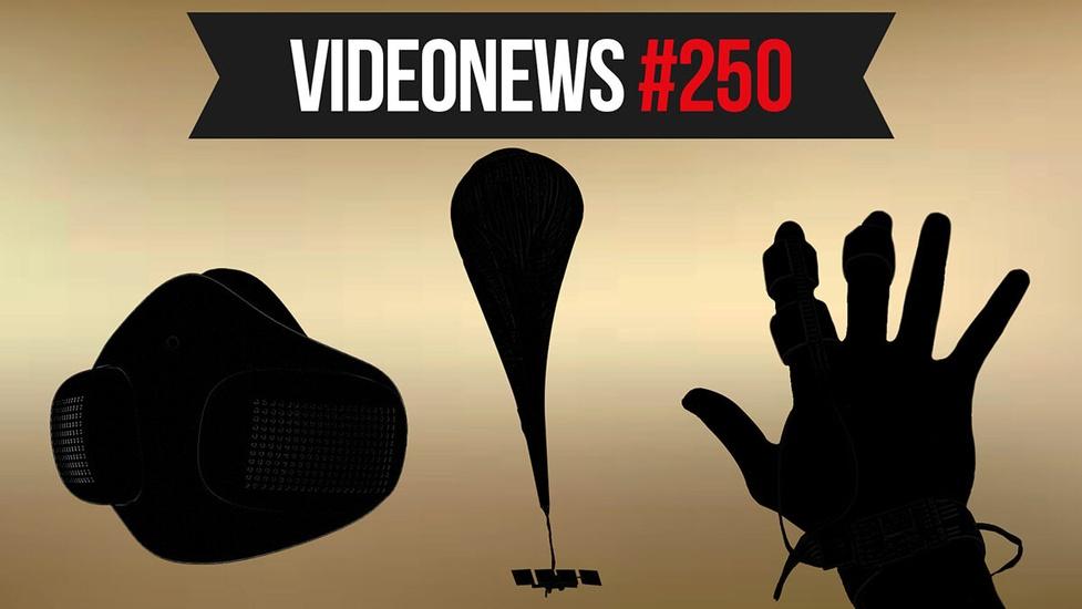 VideoNews #250! Balony z internetem, maski z aplikacją, e-skóra z Bluetooth