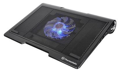 Chłodzenie do laptopa ze zintegrowanymi głośnikami