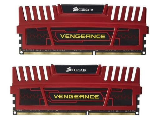 Corsair DDR3 VENGEANCE 8GB/1866 (2*4GB) CL9-10-9-24 RED