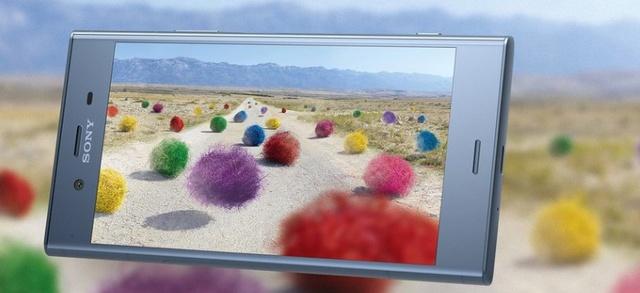 Sony Xperia XZ1 oferuje świetny ekran