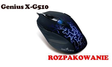 Genius X-G510 [ROZPAKOWANIE]