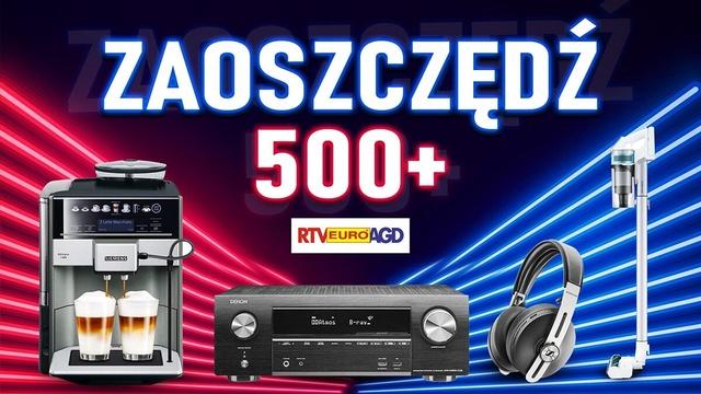 AGD, RTV i słuchawki nawet o 600 złotych taniej!