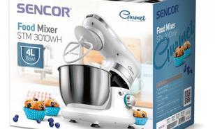SENCOR Robot kucheny STM 3010WH,450 W, poj.misa 4L,3 nasadki,6 predkosci