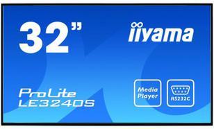 IIYAMA 32'' LE3240S-B1 IPS DVI/HDMI/USB Player/2x10W