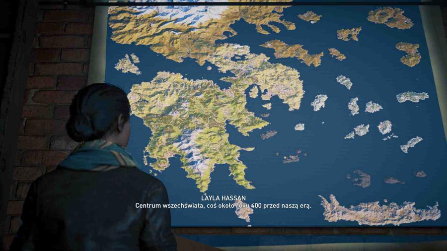 Assassin's Creed Odyssey - Mapa gry jest ogromna