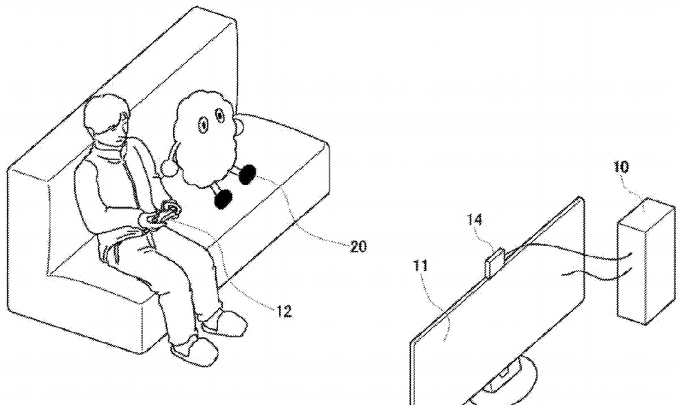 Sony patentuje robota towarzyszącego graczom