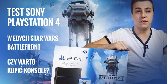 Test Sony Playstation 4 w Edycji Star Wars Battlefront - Czy Warto Kupić Konsolę?