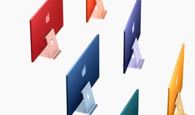 Kolorowe wersje iMaca wyróżniają go na tle konkurencji
