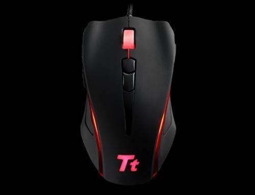 Thermaltake Tt eSPORTS Myszka dla graczy - Black Element 6500DPI Laser