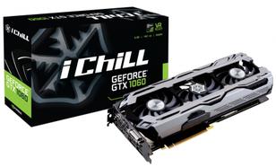 Inno3D GeForce GTX1060 iChill X3 6GB GDDR5 (192 Bit) DVI, HDMI, 3xDP, BOX (C1060-1SDN-N5GNX)