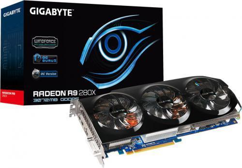Gigabyte Radeon R9 280X 3072MB DDR5/384bit - GV-R928XOC-3GD