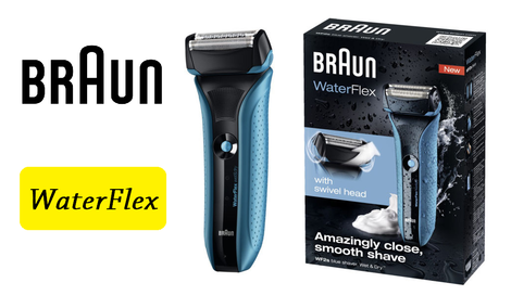 Braun WaterFlex - Łatwe Golenie Na Sucho i Na Mokro!