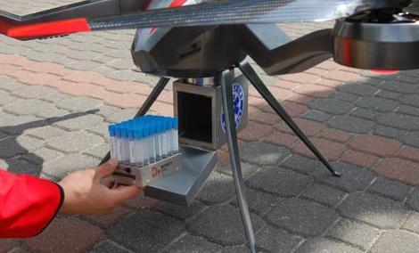 Polskie drony posłużą do transportu krwi