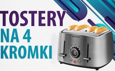 Jaki toster na 4 kromki?   TOP 5  