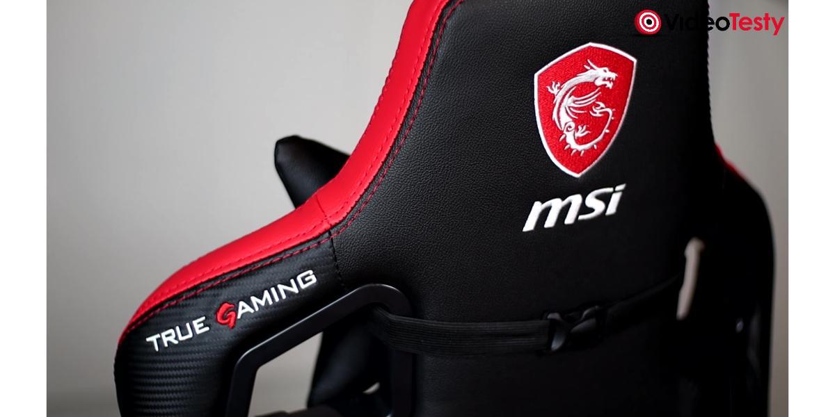 MSI MAG CH110 - haftowane logo