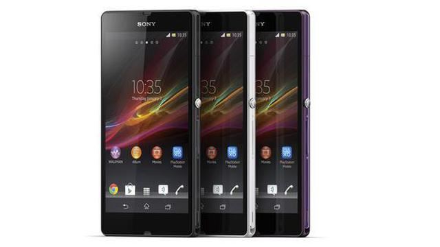 Prezentacja telefonu komórkowego Sony Xperia Z