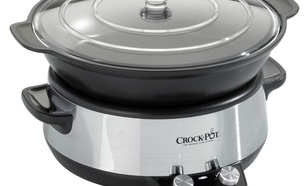 Crock-Pot 6 l Chrom