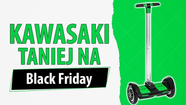 Kawasaki przecenione na Black Friday
