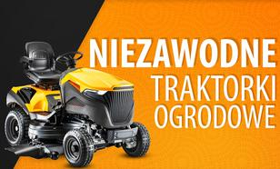 Jaki niezawodny traktorek ogrodowy?