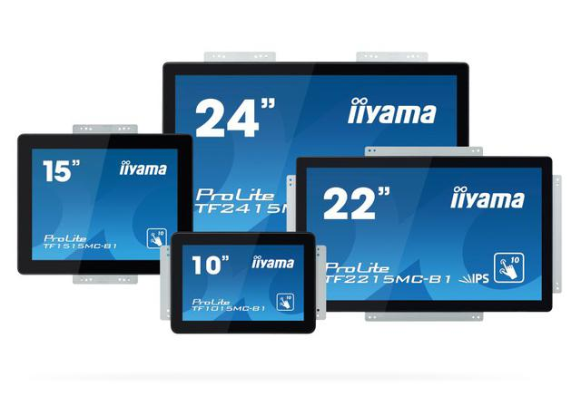 Seria nowych monitorów dotykowych to aż 4 urządzenia.