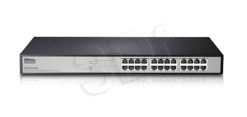 "NETIS SWITCH RACK 19"" 24-PORT 1GB ST3124G"