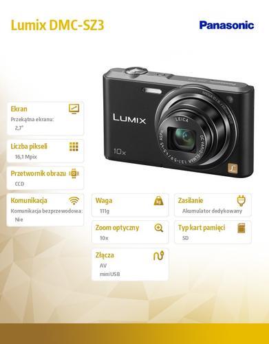 Panasonic Lumix DMC-SZ3 black