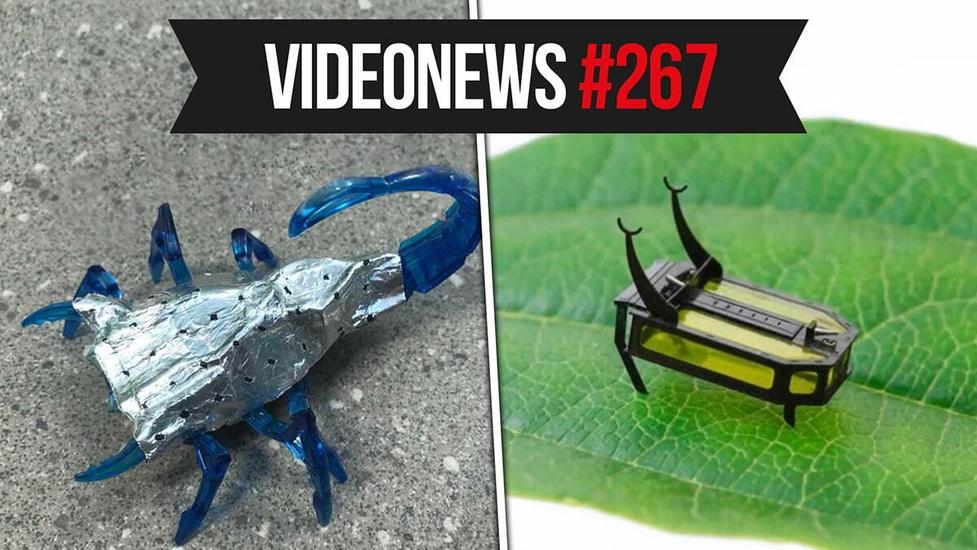 Komputer lepszy od pilota, roboty bez baterii, nowe konsole tuż tuż - VideoNews #267