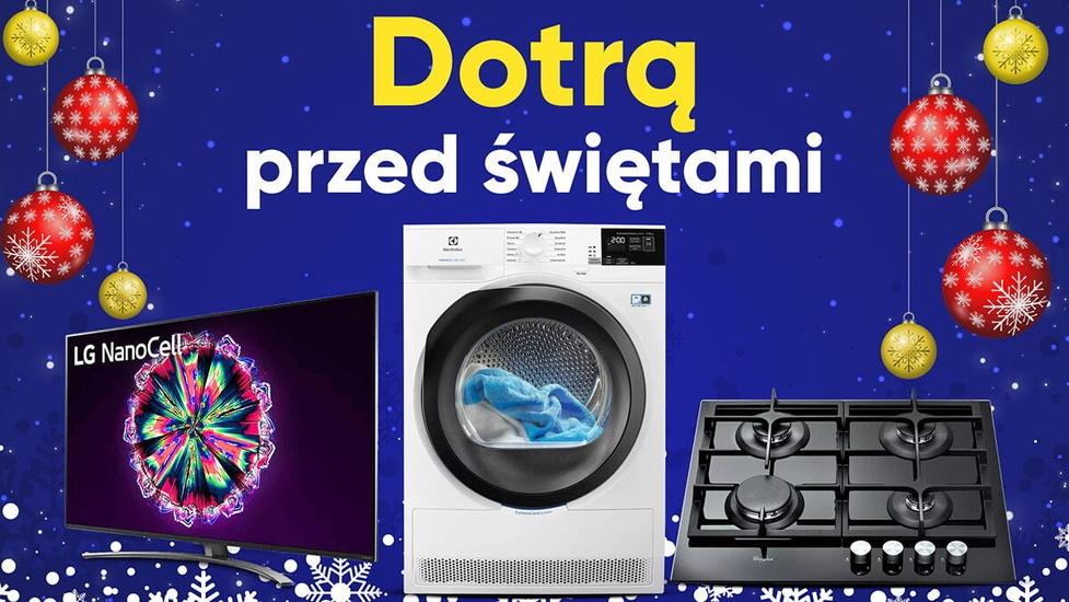 Zakupy w RTV Euro AGD dotrą jeszcze przed świętami!